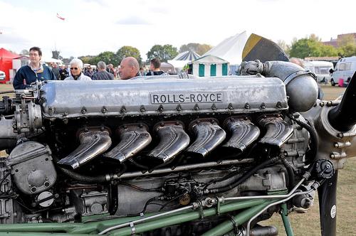 Rolls Royce Merlin Engin